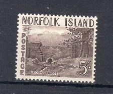 More details for norfolk island 1953 5s mlh