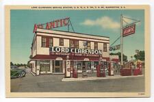 LORD CLARENDON ATLANTIC GAS STATION,RESTAURANT,STORE & ROOMS~SUMMERTON,SC