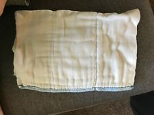 osocozy size one prefold lot 19 diapers no staining or stink