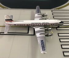 Continental Douglas DC-6B N90960 1950s 1/400 scale diecast Aeroclassics