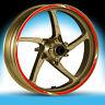 Adesivi moto DUCATI CORSE-strisce RACING3 cerchi ruote stickers