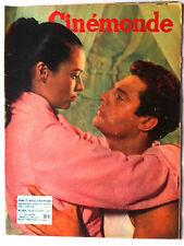 CINEMONDE 22/09/1955; Kerima et Marcello Mastroianni/ Bella Darvi/ Sacha Guitry