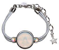 KIRKS FOLLY METALLICA SEAVIEW MOON BRACELET  crystal ab / silvertone