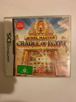NINTENDO DS JEWEL MASTER CRADLE OF EGYPT GAME With Manual