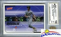 1999 Upper Deck #461 Mark McGwire Hidden Treasures+GAME USED BAT BECKETT 10