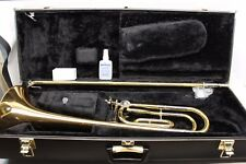 Yamaha ALLEGRO Trombone YSL548G INTERMEDIATE with F Trigger Original Hard Case