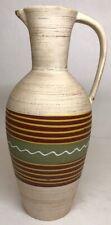 Gros Vase Rétro Vintage W. Germany H 35 L 17 l 14 Cm Voir Photos