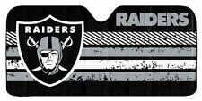 Oakland Raiders Auto Sun Shade -NEW NFL Car Truck Window Reflective Cover 59x27
