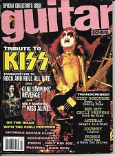 7/92 GUITAR SCHOOL magazine  KISS cover  Red Hot Chili Peppers  Anthrax