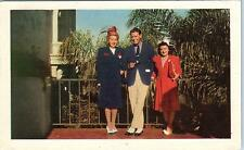 DEL MAR, CA California   Del Mar TURF CLUB   People Posing   1948   Postcard