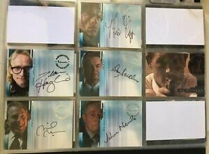 The X-Files - Season 6 & 7 -  Inkworks Mini-Master Trading Card Set