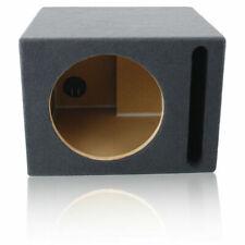 "1.27 ft³ Ported Mdf Sub Enclosure Speaker Box For Single 12"" Car Audio Subwoofer"