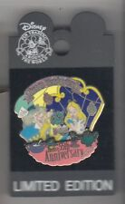 Mad Hatter tea party  Alice in Wonderland 55th Disney WDW Pin has Backer card
