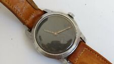Vintage Inxor Black Dial Military Automatic Swiss Watch