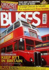 BUSES Magazine May 2009 - RT1, W&D last VRs, Electric Solo, Sandtoft, trolleys
