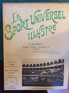 Le sport universel illustré n°806 Janvier1912. Le rôle du cheval corrida