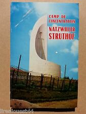 Camp de concentration Natzwiller Struthof avec ex-libris Michel Debré