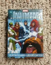 INHUMANS - MARVEL COMICS - PLAYING CARD DECK - 52 CARDS NEW SEALED !!