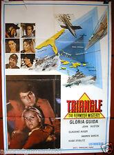 The Bermuda Triangle {Gloria Guida} Original Lebanese Movie Poster 70s