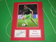 Siem de Jong Signed AFC Ajax Press Photograph Presentation