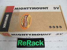 Yakima Mighty Mount 3V Factory Rack For Big Powderhound Buttondown Snowboard Ski