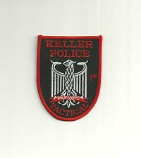KELLER TEXAS TACTICAL POLICE PATCH/