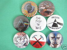 PINK FLOYD SET OF 8 PINS BUTTONS BADGE SYD BARRETT  NCL***