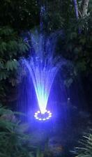 3 tier & trumpet LED Color Changing Pool Pond Water Floating Fountain with pump