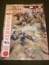 MINIATURE WARGAMES - ALIENS GAME - SEPT 1995 # 148