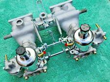 Classic Triumph Spitfire Twin HS2 Carburettors / Carbs & Manifold Reconditioned