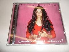 CD  Shakira - Donde Estan Los Ladrones