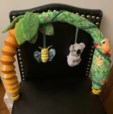 Evenflo Amazon Life Triple Fun Exersaucer • Soft Koala Toy Arch Replacement Part