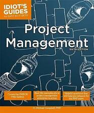 Idiot's Guides: Project Management, Sixth Edition-ExLibrary