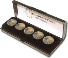 BRD monedas conmemorativas - 5 x 2 euro-castillo Neuschwanstein 2012-Baviera en estuche