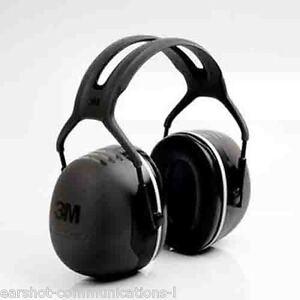3M Peltor X5A Ear Defender Headband Version X5A/37274(AAD) Optime Free UK Ship