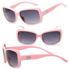 Lunettes de soleil rose carrés pour femme