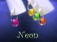 10X PIERCING uñas NEON PORCELANA ACRILICO NAILS DECORATION gel decoracion nails