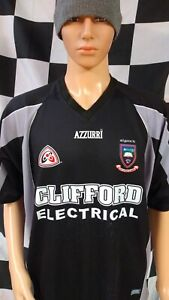 Sligo GAA Official Azzurri Gaelic Football Jersey Shirt (Adult Large)