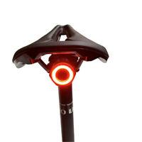 MEROCA Energy Saving Bicycle Smart Brake Light LED Tail Light Rechargeable US