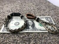 Handmade Hitched Horse Hair Bracelet And Key Chain  Made In Montana State Prison