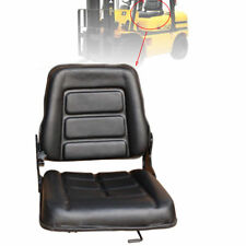 Forklift Seat Adjustable Leather Bobcat Tracto Chair Multi Excavator Machinery