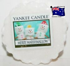 YANKEE CANDLE Tart Melt Merry Marshmallow FREE Postage for ADDITIONAL TARTS