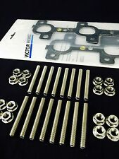 Dodge Chrysler Jeep Hemi 4.7 Exhaust manifold Bolts Studs Gasket Kit Stainless