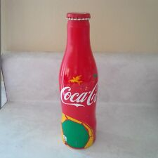 Rare Coca Cola WORLD CUP SOCCER BRAZIL aluminium bottle from Norway 2014