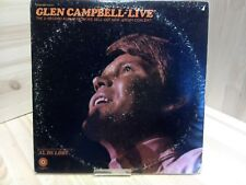 Glen Campbell Live in New Jersey Excellent 2 x Vinyl LP Record STBO 268