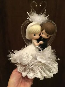 Bride & Groom Cake-Topper-Party-Decoration Precious Moments Dance with me