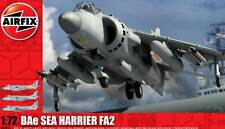 Airfix BAe Sea Harrier FA2 FA. 2 HMS Ark Royal RNAS Yeovilton 1:72 model kit