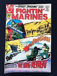 FIGHTIN' MARINES #96 CHARLTON COMICS 1971 FN+