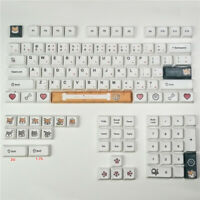 Doge Theme XDA Keycap 87 104 108 Full Set Resin Key Caps For Cherry MX Keyboard