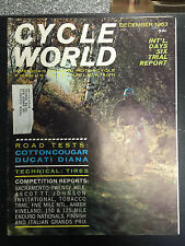 1963 Cycle World December Back Issue Magazine